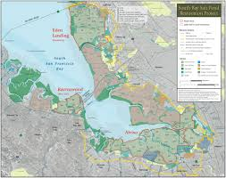 san francisco map detailed south bay restoration maps