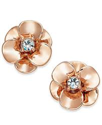 flower earrings kate spade new york flower stud earrings jewelry