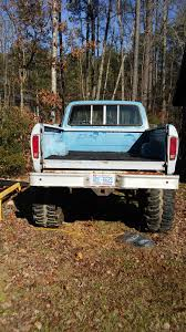 Ford F 100 1976 1976 Ford F100 4x4 Shortbed Lifted With 44