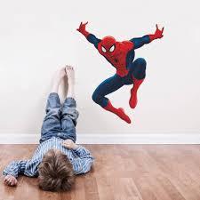 u0026 cartoon spiderman wall stickers kids room nursery living room