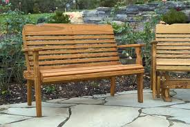 Simple Park Bench Plans Amazing Outdoor Wood Bench Made Pine Westchester Park Bench