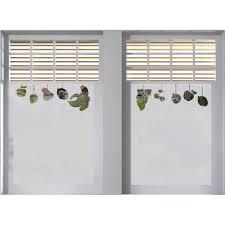 stickers fenetre cuisine sticker occultant fenêtre fruits stickers depolis vitre pas cher