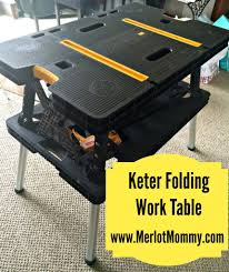 keter portable work table keter folding work table review and giveaway whisky sunshine