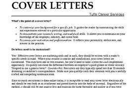 what are cover letters