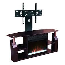 amazing corner tv stand with fireplace suzannawinter com