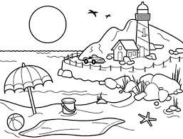 Summertime Coloring Pictures Summertime Holiday Coloring Page Summertime Coloring Pages