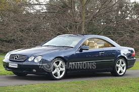 2000 mercedes coupe sold mercedes cl600 coupe auctions lot 22 shannons