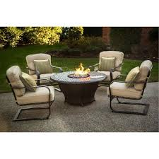 Charleston Outdoor Furniture by Charleston Collection 5 Piece Fire Pit Chat Group Rc Willey