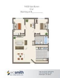 2 bedroom apartments dc 2 bedroom floor plan 1400 van buren apartments in northwest