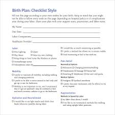 25 images of creating a birth plan template learsy com