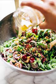 arugula salad with grapes and black pepper vinaigrette recipe