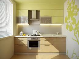 Backsplash For Small Kitchen Kitchen Exquisite Small Kitchen Design With Brown Tile Wall