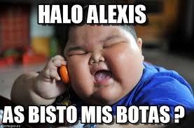 Alexis Meme - halo alexis asian fat kid meme on memegen