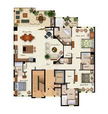interesting one bedroom guest house floor plan excerpt loversiq