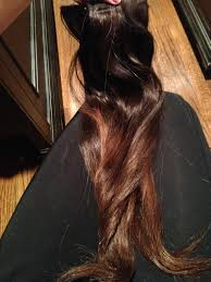 Make Clip In Hair Extensions by How To Dye Your Human Hair Extensions Ombre At Home Diy Step By Step