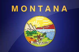 All The States Flags Flag Of Montana Download The Official Montana U0027s Flag