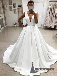 satin wedding dresses pink prom dress prom dress formal prom dress moddress