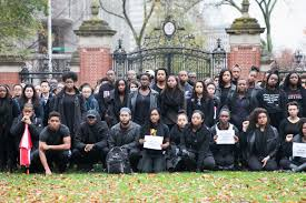 blackout u0027 marks solidarity with mizzou students of color