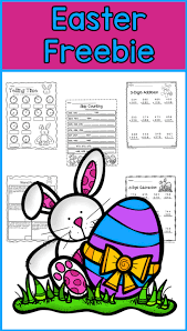free easter math for second grade telling time skip counting 3