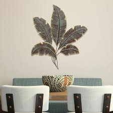 Home Decor Closeouts Home Decor Metal Palm Leaves Wall Decor