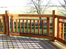 Ideas For Deck Handrail Designs Wood Deck Railing U2013 Smartonlinewebsites Com