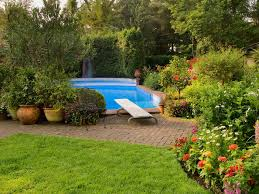 Landscaping Around A Pool by What To Consider Before Landscaping By A Swimming Pool