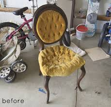 Design Ideas For Chair Reupholstery Lovely Design Ideas For Chair Reupholstery Before After Creative