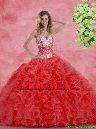 quinceanera dresses 2016 2016 pretty sweetheart beaded quinceanera dresses with ruffles