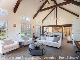 New England Home Interior Design Post And Beam Home Photos American Post U0026 Beam