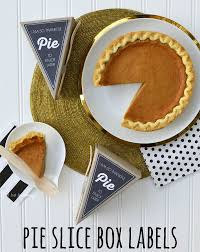 free thanksgiving food giveaway tuesday tip pie slice box labels a la modo giveaway revel