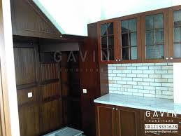 kitchen sets furniture gavin furniture memberikan kualitas terjamin pembuatan kitchen set