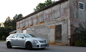 cadillac cts reviews 2011 2011 cadillac cts v wagon term test review car and driver