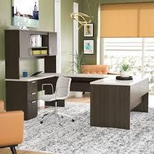 espresso desk with hutch dark espresso desk wayfair