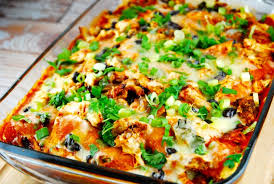 Cooking Light Enchilada Casserole Chicken Enchilada Casserole Recipe 8 Smart Points Laaloosh