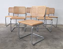 marcel breuer dining table now sold genuine cesca s32 marcel breuer cantilever dining chairs