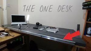 Custom Built Computer Desks C1kgeq5 My And I Built Desk With Pc Inside Rebrn Com Striking