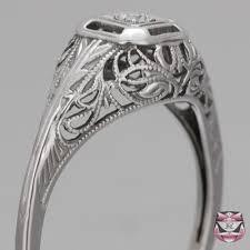 filigree engagement ring filigree diamond rings vintage filigree engagement ring