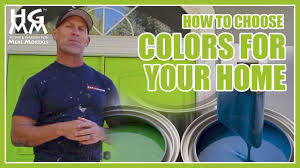 How To Choose Colors For Your Home How To Choose Exterior Colors For Your House Youtube