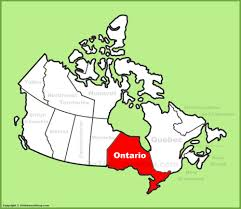 Blank Map Of Canada Provinces And Territories by Ontario Province Maps Canada Maps Of Ontario On Ont