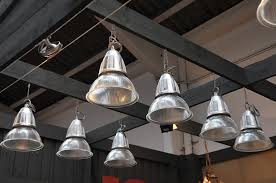 Industrial Glass Pendant Lights Set Of 20 Vintage Industrial Holophane Pendant Lights Sold
