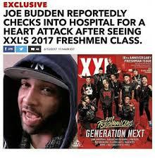 Joe Budden Memes - exclusive joe budden reportedly checks into hospital for a heart