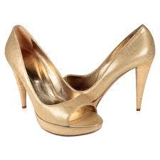 rossi shoes peep toe pumps gold bamboo designer shoes srw05