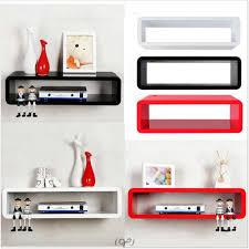 interior bookshelf wall mount modern pop designs for bedroom