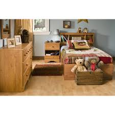 Country Pine Furniture South Shore Little Treasures Twin Mates Bed With 3 Drawers 39