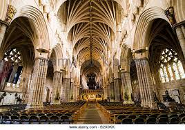 Cathedral Interior Exeter Cathedral Interior Stock Photos U0026 Exeter Cathedral Interior