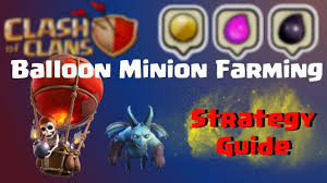 scary pumpkin coc clash of clans balloon minion best farming strategy for high