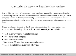 Sample Resume For Construction Site Supervisor by Construction Site Supervisor