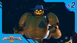 miniforce season2 ep10 halloween party pt 2 english ver youtube