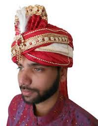 indian wedding groom 7 1 2 x large men hat indian wedding groom pagri handmade turban
