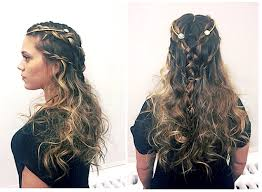 daenerys style hair get the look game of thrones daenerys targaryen waterfall braid